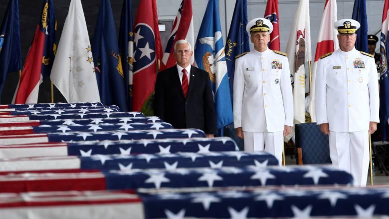ΗΠΑ: Επαναπατρίστηκαν οι σοροί αμερικών στρατιωτικών που «έπεσαν» στον πόλεμο της Κορέας