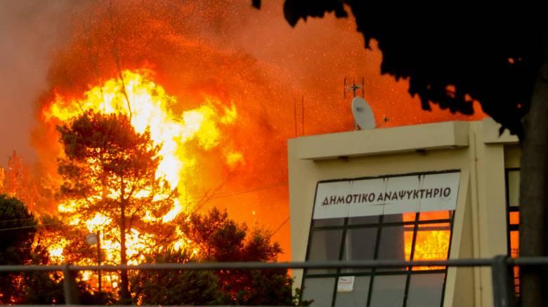 Μαρτυρία από το Μάτι: «Τα κουκουνάρια έπεφταν πάνω μας σαν πυροτεχνήματα»