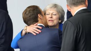Γαλλία: Μακρόν και Μέι συζητούν σήμερα για το Brexit