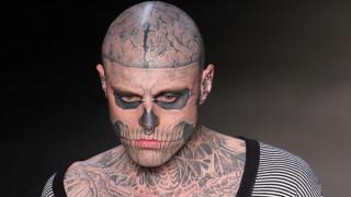 Zombie Boy: Αυτοκτόνησε το διάσημο μοντέλο με τα εκατοντάδες τατουάζ οστών και οργάνων