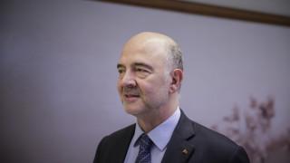 Μοσκοβισί στη Welt: Η Ελλάδα ξαναπαίρνει τη θέση που της ανήκει στην Ευρωζώνη