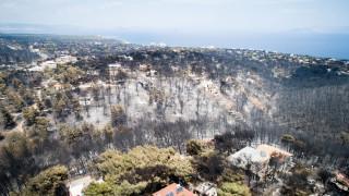 Πλήρως καμένες το 70% των εκτάσεων στο Μάτι – Χάρτης του Αστεροσκοπείου Αθηνών
