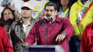 Βενεζουέλα: Ομιλία του Μαδούρο διακόπηκε απότομα - Στρατιώτες έτρεχαν πανικόβλητοι