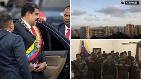 Βενεζουέλα: Το χρονολόγιο των επιθέσεων κατά του Μαδούρο