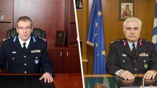 Ποιοι είναι οι νέοι αρχηγοί της Πυροσβεστικής και της ΕΛ.ΑΣ.