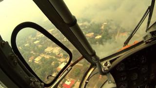 Φωτιά Αττική: Πιλότος δημοσιεύει συγκλονιστικά πλάνα από την επιχείρηση κατάσβεσης