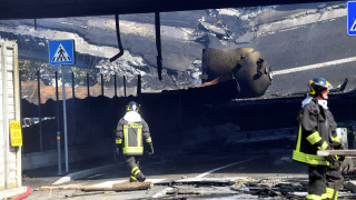 Συγκλονίζουν τα βίντεο από το τροχαίο που προκάλεσε χάος στην Μπολόνια