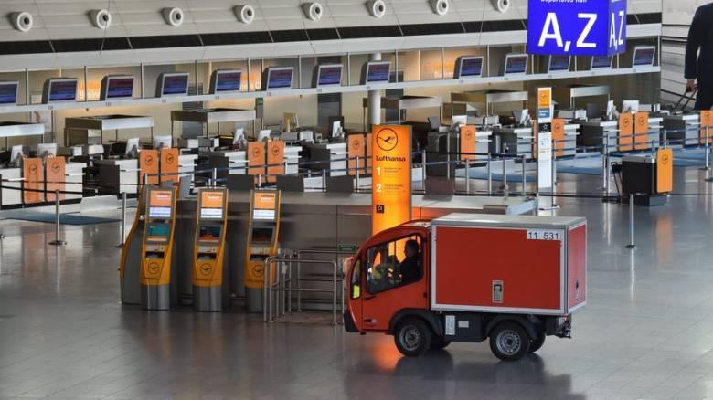 Συναγερμός στο αεροδρόμιο της Φρανκφούρτης