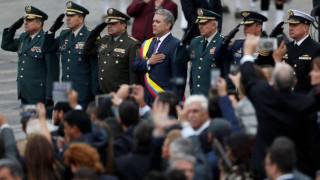 Ο Ιβάν Ντούκε ορκίστηκε πρόεδρος της Κολομβίας