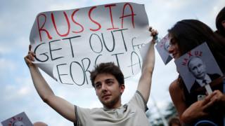 Απόσυρση των ρωσικών στρατευμάτων από τη Γεωργία ζητά η Ουάσινγκτον