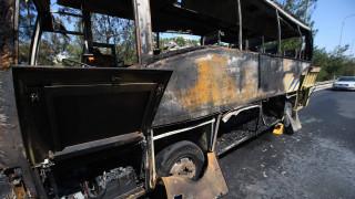 Κρήτη: Φωτιά σε λεωφορείο γεμάτο τουρίστες