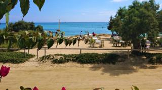 Στη φημισμένη παραλία της Πλάκας η ναξιώτικη κουζίνα αποθεώνεται με ένα… σαγανάκι