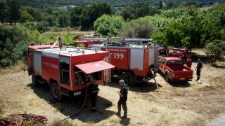 Πολύ υψηλός κίνδυνος πυρκαγιάς και για αύριο Πέμπτη