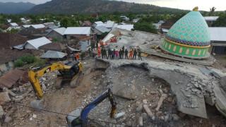 Δραματική αύξηση των νεκρών από τον φονικό σεισμό στην Ινδονησία
