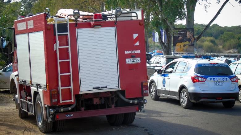 Πυρκαγιά σε σταθμευμένο Ι.Χ στη Σκόπελο
