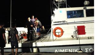 Διάσωση 36  μεταναστών τα ξημερώματα στο Μόλυβο