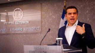 Ο πρωθυπουργός παρουσιάζει το νέο σχέδιο για την Πολιτική Προστασία