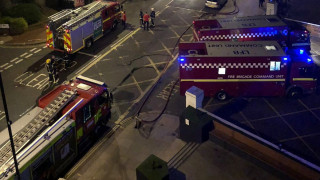 Πυρκαγιά σε τετραόροφο κτήριο στο Λονδίνο