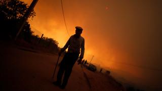 Σε ύφεση οι φωτιές σε Πορτογαλία και Ισπανία