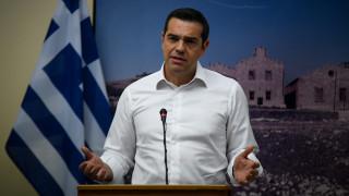 Τσίπρας: Η μείωση της ανεργίας αποτυπώνει την αλλαγή σελίδας στην ελληνική οικονομία