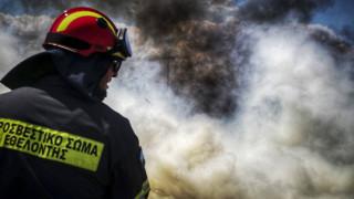 Θυελλώδεις άνεμοι και υψηλός κίνδυνος πυρκαγιάς και σήμερα