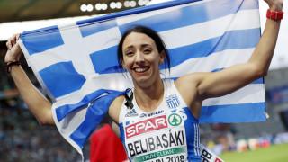 Ασημένιο μετάλλιο για την Μαρία Μπελιμπασάκη στο ευρωπαϊκό