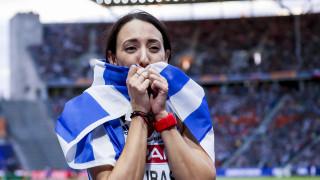 Ο πολιτικός κόσμος συγχαίρει την Μαρία Μπελιμπασάκη για το ασημένιο