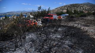 Πολύ υψηλός κίνδυνος πυρκαγιάς σε Εύβοια και Αττική τη Δευτέρα (χάρτης)