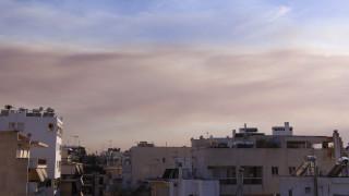 Πυρκαγιά Εύβοια: Ορατοί στον αττικό ουρανό οι καπνοί της φωτιάς