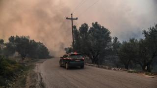 Πυρκαγιά Εύβοια: Έκτακτη σύγκληση του Συμβουλίου Διαχείρισης Κρίσεων