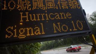 Συναγερμός στην Κίνα λόγω του τυφώνα Γιαγκί