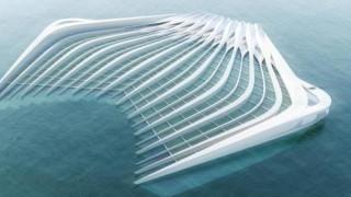 Η πλωτή πλατφόρμα που θα απαλλάξει τη θάλασσα από τα πλαστικά