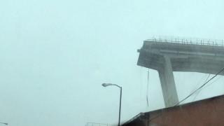 Βίντεο-ντοκουμέντο από τη στιγμή της κατάρρευσης της οδογέφυρας στη Γένοβα