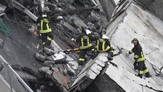Γένοβα: Πάνω από δέκα νεκροί από την κατάρρευση της οδογέφυρας