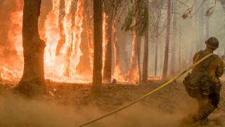 Νεκρός πυροσβέστης στη μάχη με τις φλόγες στην Καλιφόρνια