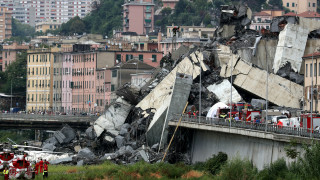 Γένοβα: Σε κεραυνό αποδίδουν την κατάρρευση της οδογέφυρας αυτόπτες μάρτυρες