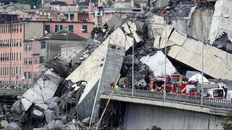 Τραγωδία στη Γένοβα: Μεγαλώνει η λίστα των θυμάτων
