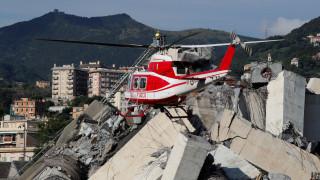 Τραγωδία στη Γένοβα: Νίκαια και Κάννες στο πλευρό των Ιταλών διασωστών
