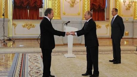 Διπλωματική πηγή: Τέλη Σεπτεμβρίου φεύγει από τη Μόσχα ο Ανδρέας Φρυγανάς