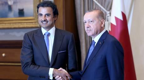 Το Κατάρ υπόσχεται επενδύσεις δισεκατομμυρίων στην Τουρκία