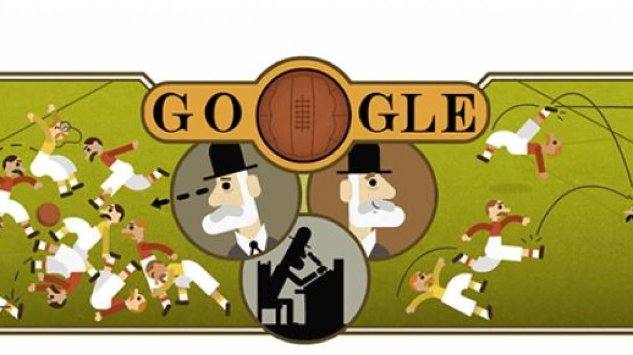 Ebenezer Cobb Morley: Το Google Doodle τιμά τον άνθρωπο που «μεταμόρφωσε» το ποδόσφαιρο