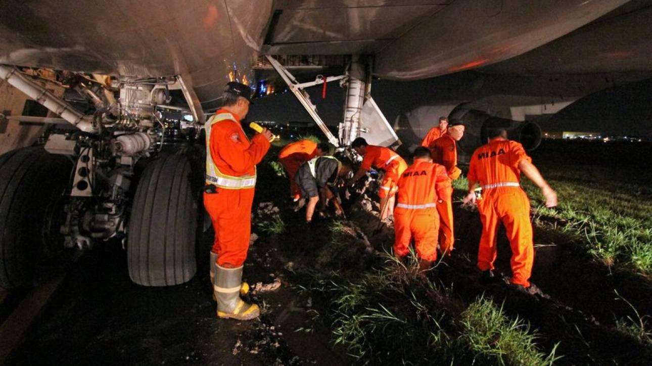 Κινεζικό Boeing 737 συνετρίβη κατά την προσγείωση στο αεροδρόμιο της Μανίλα