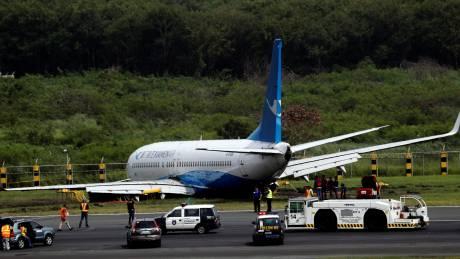 Καρέ-καρέ το ατύχημα αεροσκάφους στο αεροδρόμιο της Μανίλα