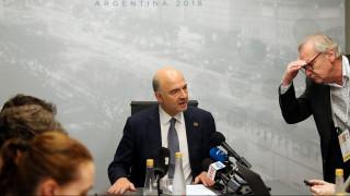 Μοσκοβισί: Η Ελλάδα ξαναβρίσκει τη θέση της στην Ευρωζώνη