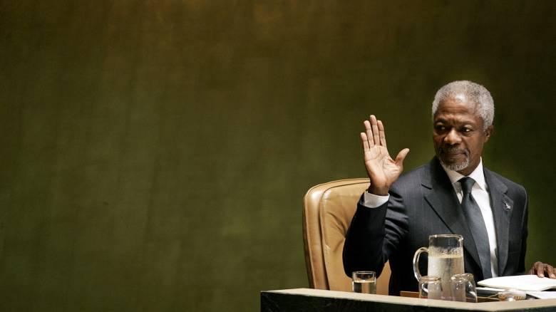 Ο πολιτικός κόσμος αποχαιρετά τον Κόφι Ανάν