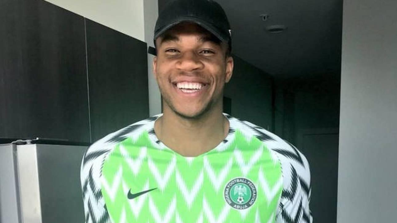 Με φανέλα της εθνικής Νιγηρίας ο Αντετοκούνμπο