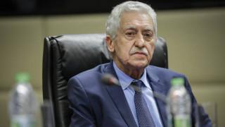 Κουβέλης: Αποτέλεσμα συστηματικών ενεργειών της κυβέρνησης η αποφυλάκιση των στρατιωτικών
