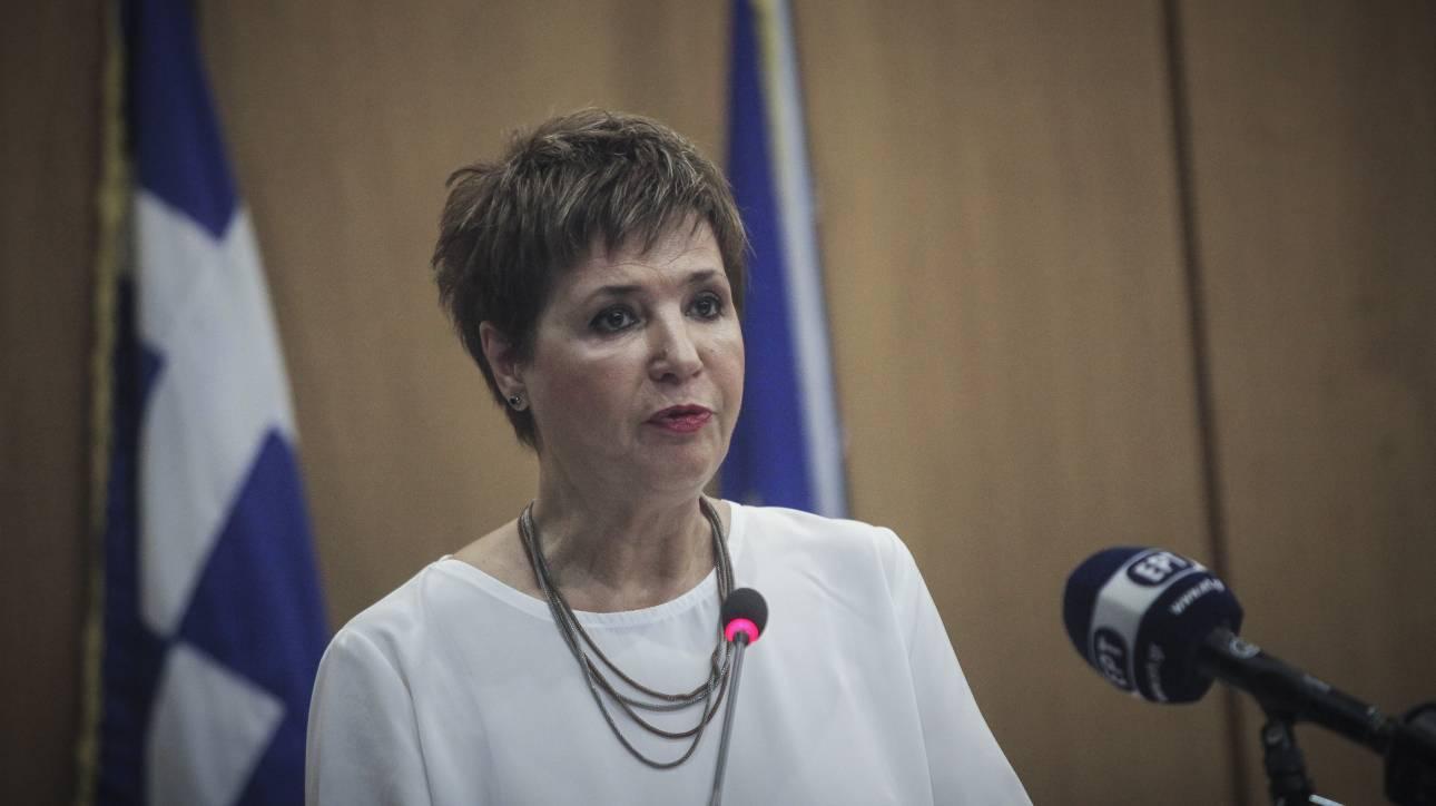 Γεροβασίλη: Η κυβέρνηση στρίβει το τιμόνι εκεί που εκτιμά ότι χρειάζεται