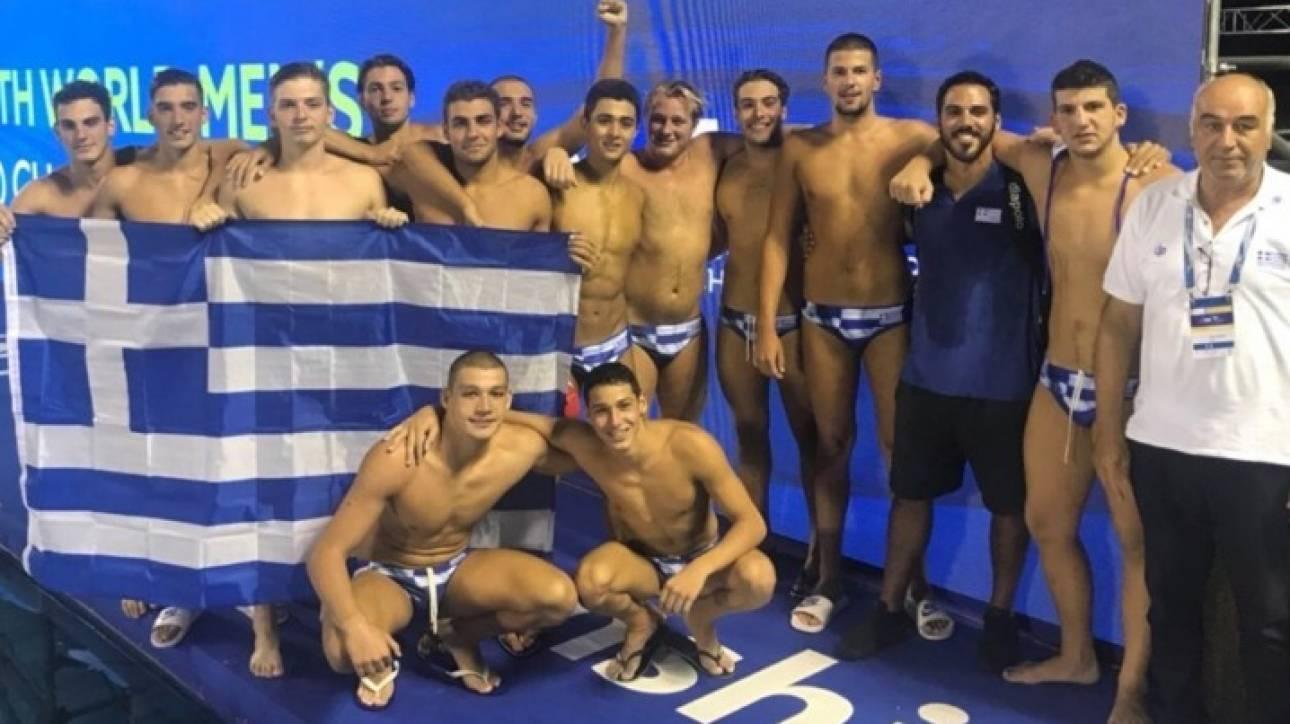 599af26b4a7d Παγκόσμιο Πρωτάθλημα Πόλο Εφήβων  Στην κορυφή του κόσμου η Ελλάδα ...