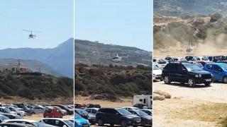 Κρήτη: Ελβετός τραπεζίτης πήγε για μπάνιο με… ελικόπτερο